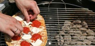 Grilled Pizza Napoletana