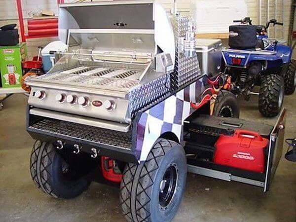 ATV BBQ Grill