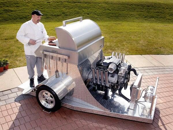 Car Engine Grill
