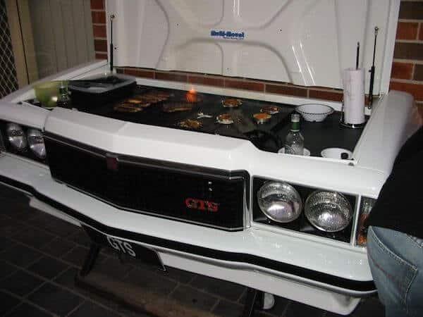 Car Hood grill