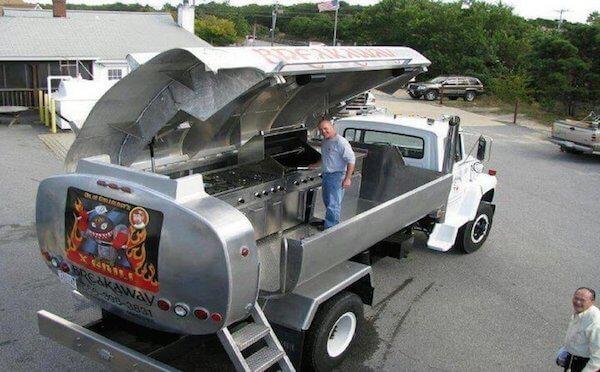 Oil Tanker Grill