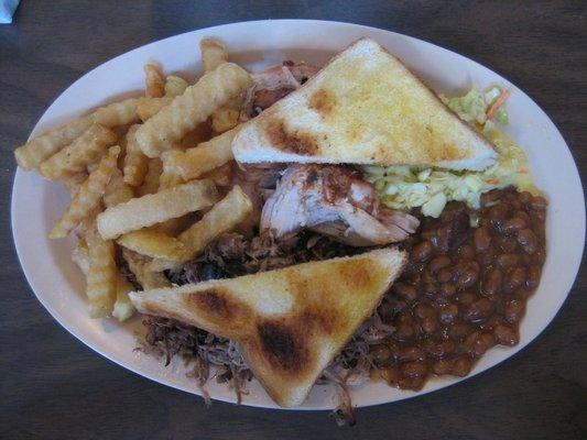 5) Porker's BBQ