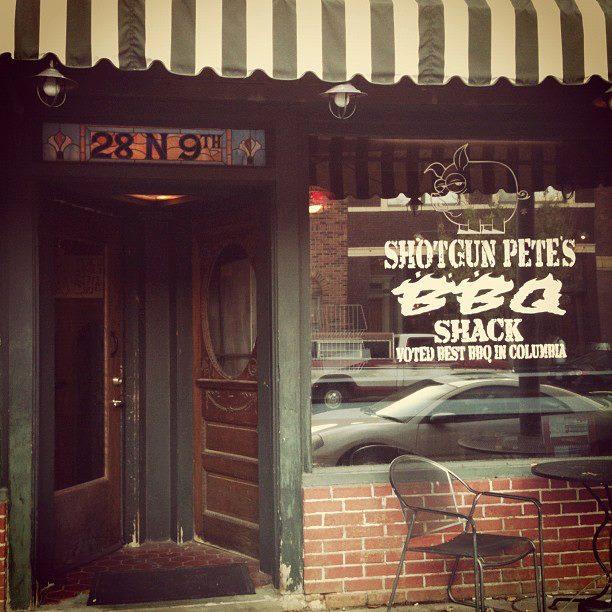 10. Shotgun Pete's BBQ Shack, Columbia